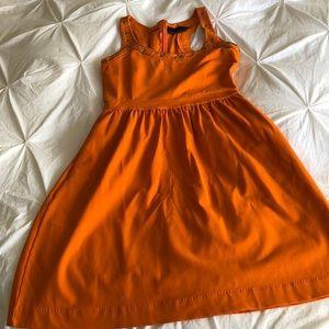 Orange Cynthia Rowley Dress. Perfect for summer.